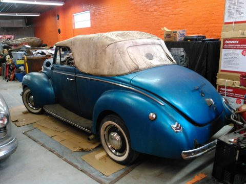 1940 Ford Deluxe Convertible Rat Rod Gasser for sale