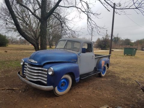 1947 Chevy 3100 5window pickup for sale