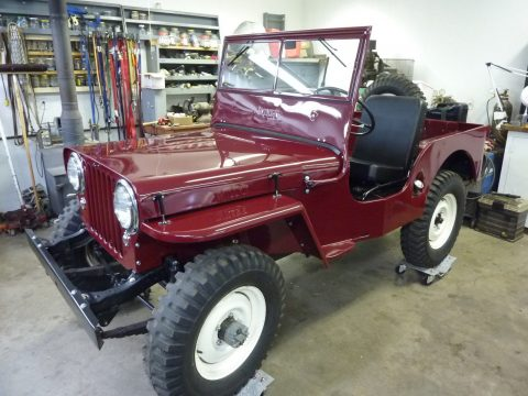 1948 Willys CJ2A Jeep Completely Restored for sale