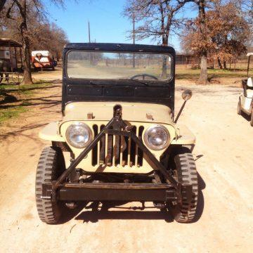 1949 Willys Jeep CJ3A for sale