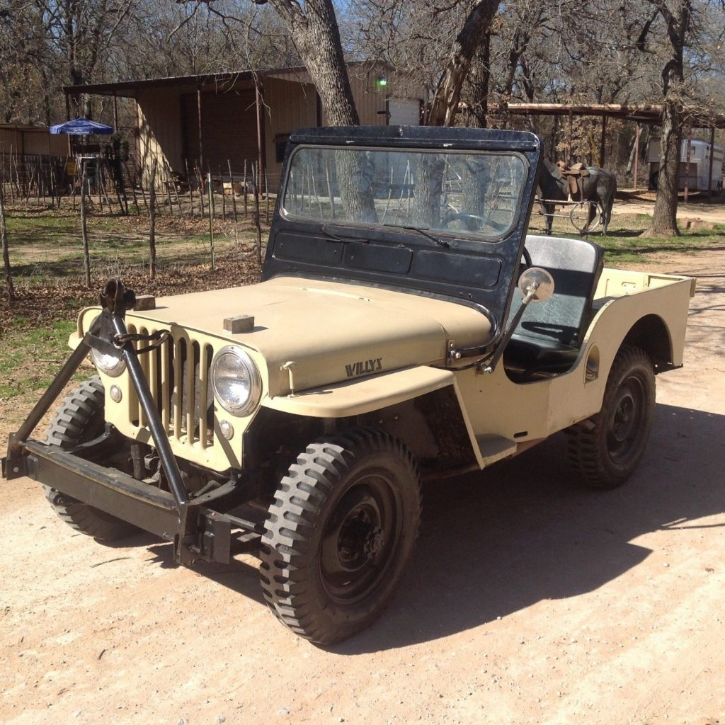 1949 Willys Jeep CJ3A For Sale