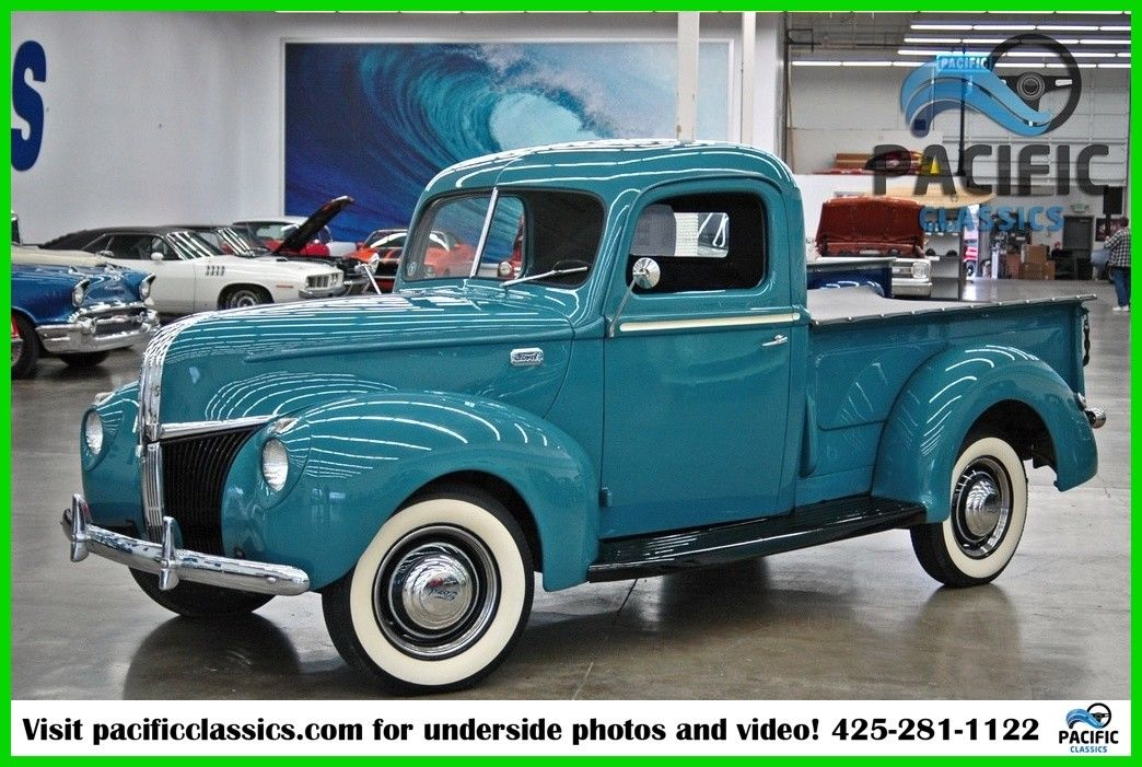All Steel 1941 Ford Pickup Flathead V8 For Sale