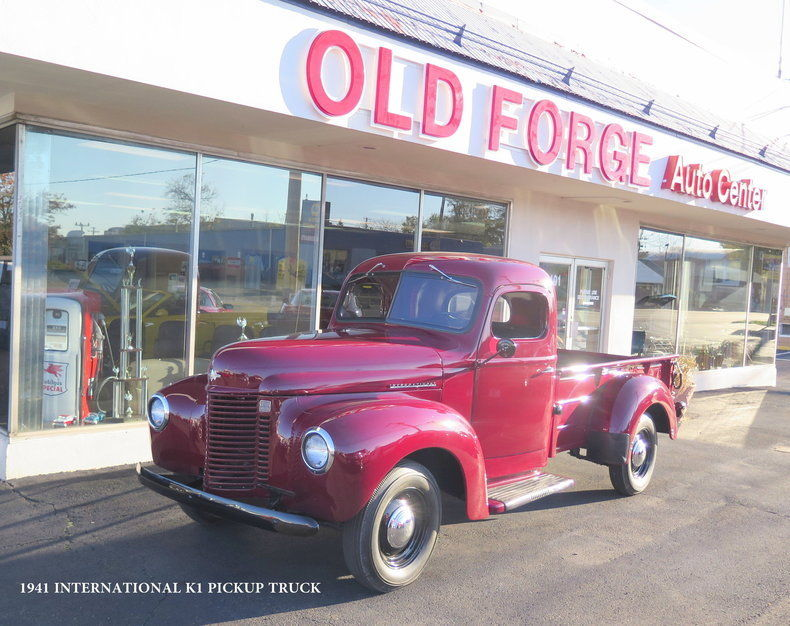 Restored 1941 International K-1 half ton pickup truck