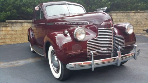 Beautiful 1940 Chevrolet Master Deluxe for sale