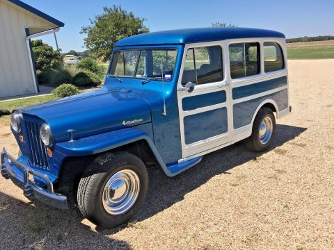GREAT 1948 Willys Station Wagon for sale