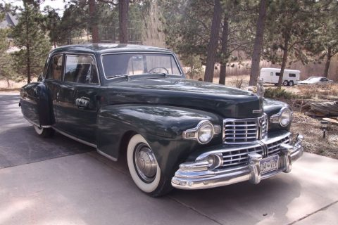 NICE 1946 Lincoln Continental for sale