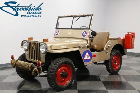 VERY NICE 1946 Willys Jeep CJ 2A for sale