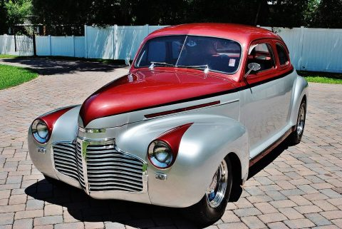 1941 Chevrolet Special Deluxe Coupe Streetrod w/ Air Conditioning for sale