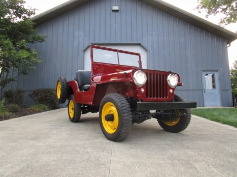 1948 Willys CJ2A for sale