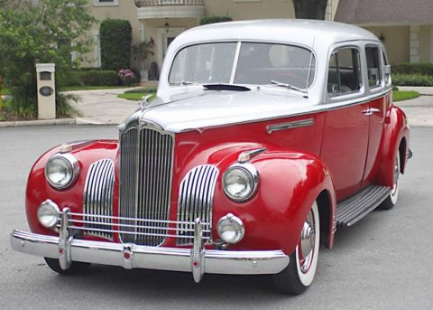 AMAZING 1941 Packard 110 Touring Sedan for sale