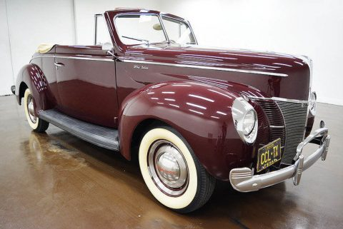 GREAT 1940 Ford Deluxe for sale