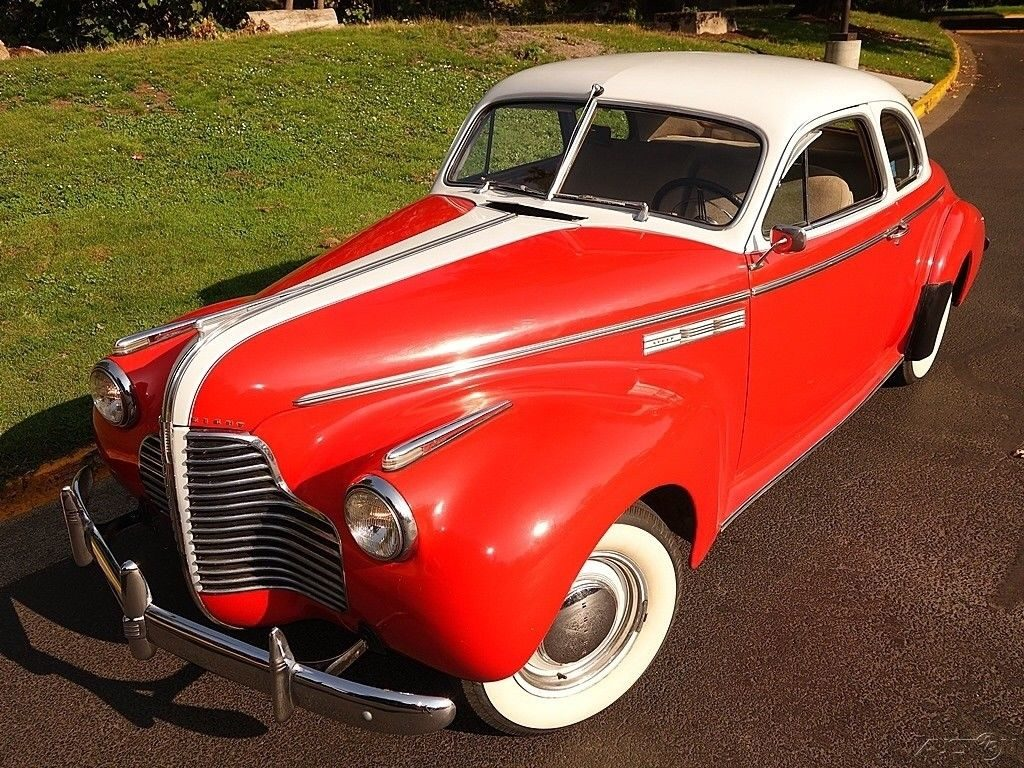 1940 Buick Super Coupe 2 door – Runs and drives great!