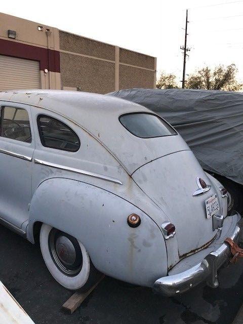 1947 Plymouth Special Deluxe 4 door Project