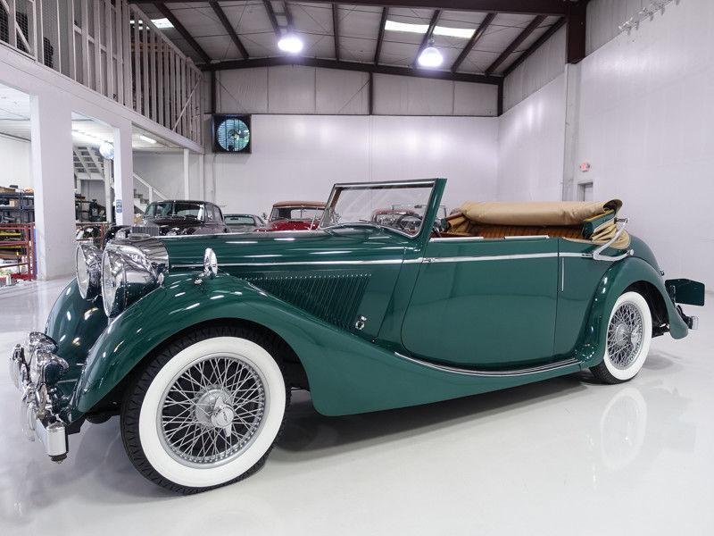 1948 Jaguar 3 1/2 Litre Mk IV 3 Position Drophead Coupe | CCCA Full Classic
