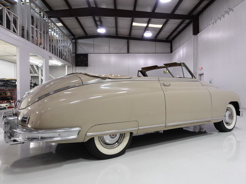 1949 Packard 200 Victoria Convertible – Wonderful condition