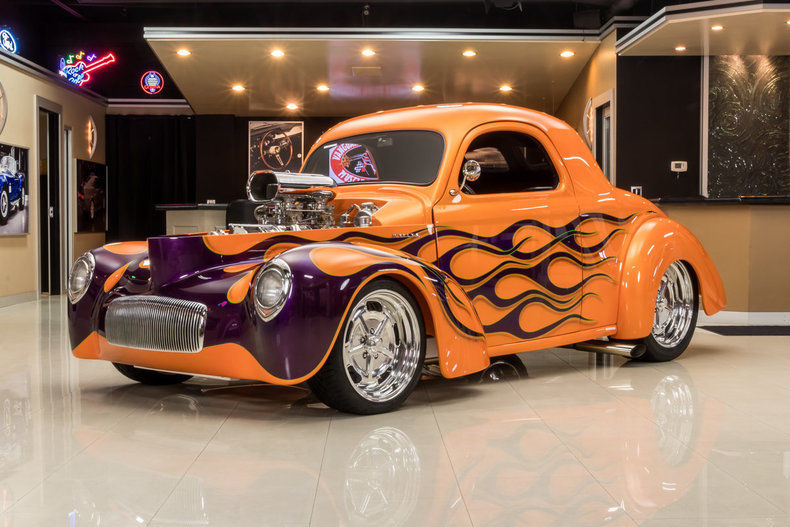 GORGEOUS 1941 Willys Coupe Street Rod